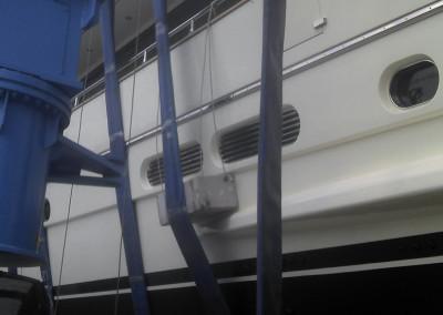 Προστασία του σκάφους κατά την ανέλκυση και καθέλκυση
