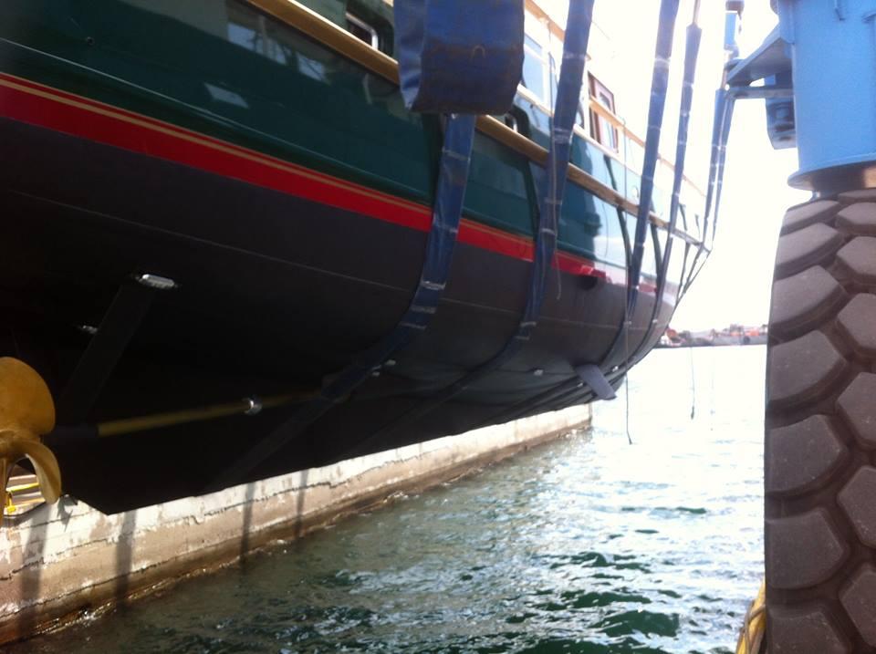 Καθέλκυση σκάφους